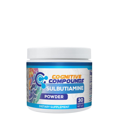 Sulbutiamine Powder 30 Grams Cognitive Compounds Nootropic