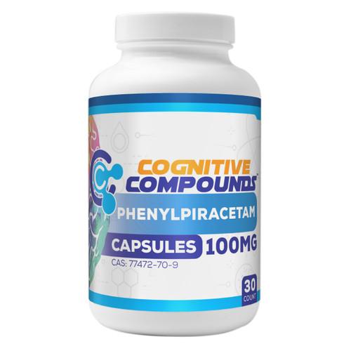 Phenylpiracetam Capsules | 100mg | 30 Count