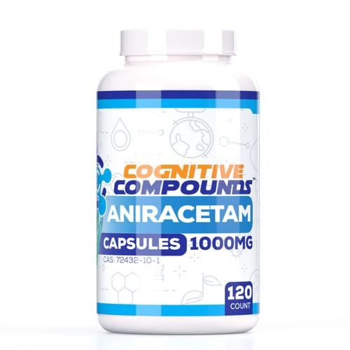 Aniracetam Capsules | 1000mg  | 120 Count