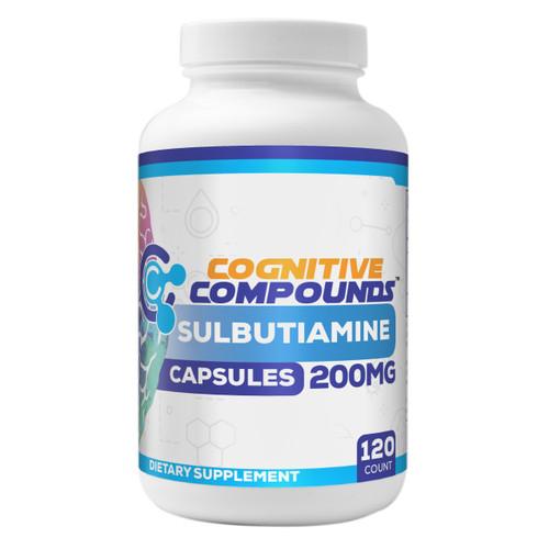 Sulbutiamine Capsules | 200mg | 60 Count