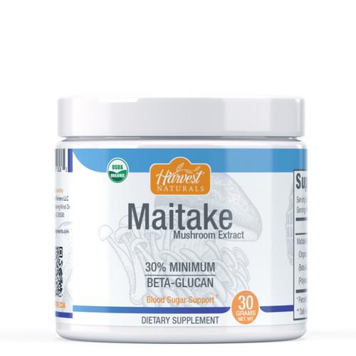 Maitake Mushroom Extract Powder | 30% Beta Glucan Min. | Whole Fruiting Body | Grifola frondosa