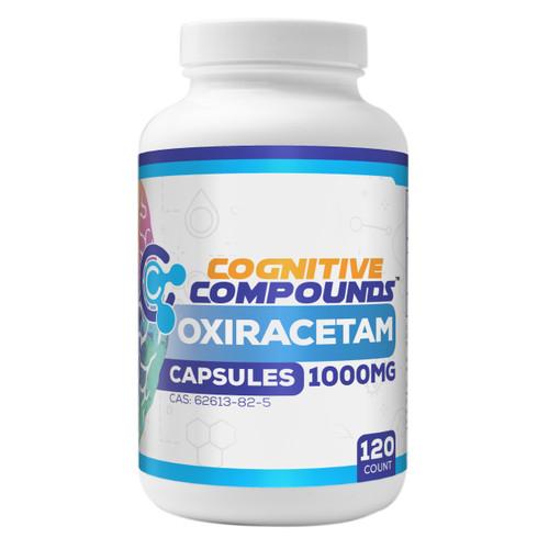 Oxiracetam Capsules | 1000mg | 120 Count