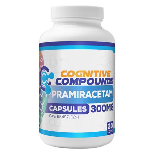 Pramiracetam Capsules | 300mg | 30 Count