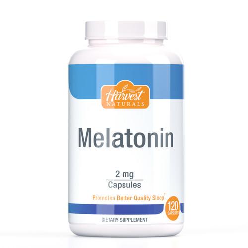 Melatonin Capsules | 2mg | 120 Count