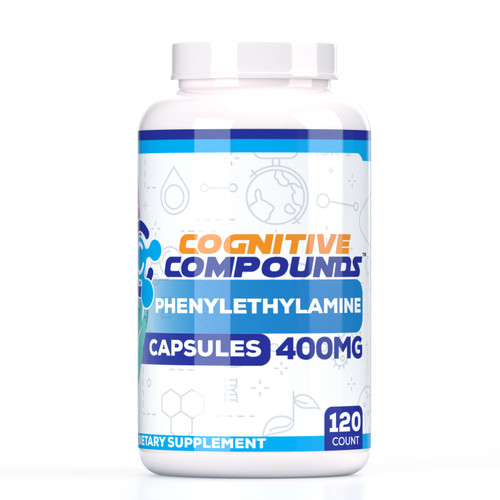 Phenylethylamine Capsules | 400mg | 120 Count