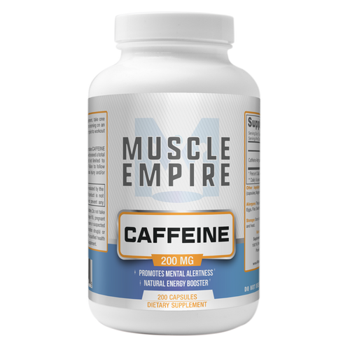 Caffeine Capsules | 200MG | 200 Count
