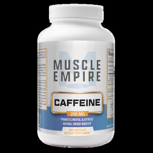 Caffeine Capsules | 200MG | 200 Count