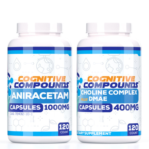 Aniracetam Capsules + Choline Complex Bundle