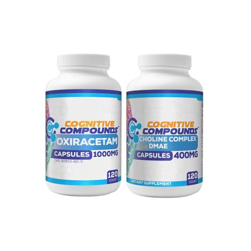 Oxiracetam Plus Choline Complex Bundle