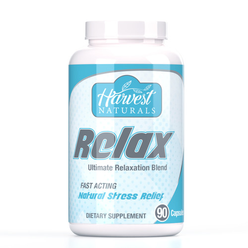 Relax Capsules | Ultimate Relaxation Blend | 90 Count