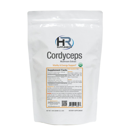 BULK Cordyceps Mushroom Extract Powder | Cordyceps militaris