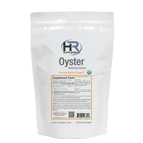 BULK Oyster Mushroom Extract Powder | Pleurotus ostreatus