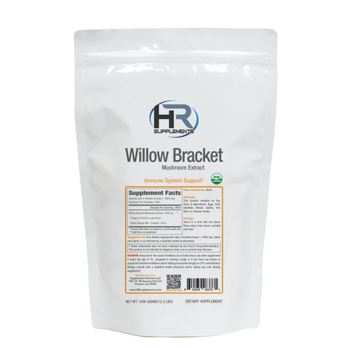 BULK Willow Bracket Mushroom Extract Powder | Phellinus igniarius