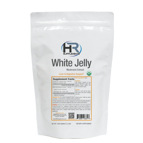 BULK White Jelly Mushroom Extract Powder | Tremella fuciformis