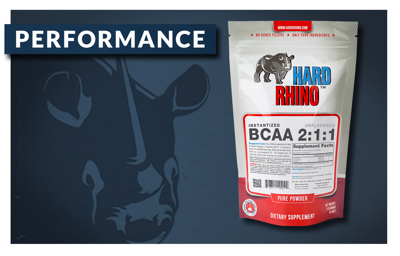 Hard Rhino Energy and Performance