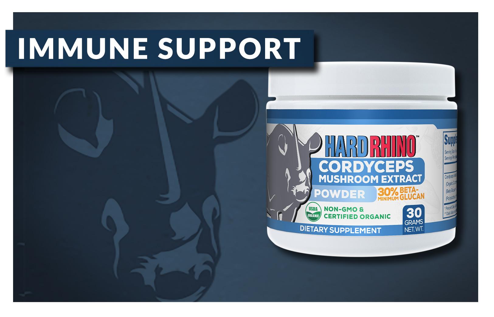Hard Rhino Immune Support