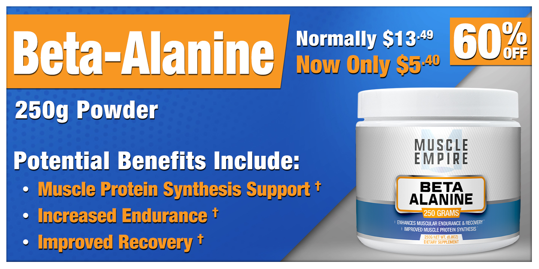 Beta-Alanine Powder 250 Grams