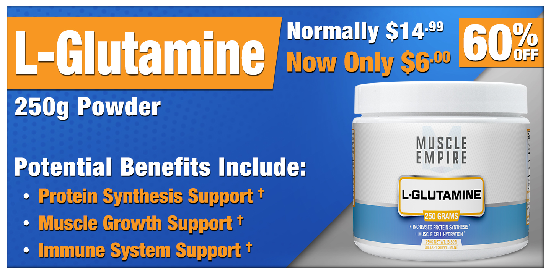 L-Glutamine Powder 250 Grams