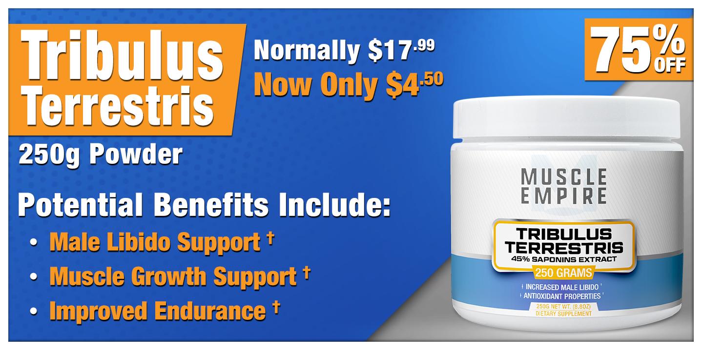 Tribulus Terrestris 45% Saponins 250 Grams
