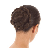 Lattice Effect Hair Bun