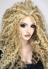Queen B Popcorn Blonde Lace Front Wig