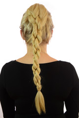 Ponytail Rope Effect in the style of Nicole Scherzinger in Candy Blonde