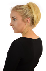 Bouffant Claw Grip Ponytail Candy Blonde