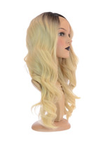 Swiss Lace Front Blonde Diva Deluxe Wig
