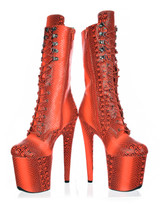 Red Anaconda Platform 20cm Boot