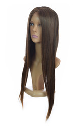 Long Straight Lace Front Wigs. Hawaiian Brown. Tanesha Wig