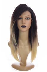 Ombre Yaki Straight Lace front wig Tori