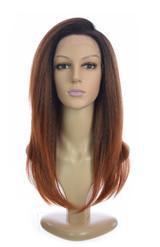 Auburn Ombre Lace Front Wig. Tori