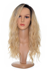 Honey Blonde Lace Front Teagan Wig.