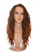 Burnt Amber Teagan Brown Copper Tipped Wig