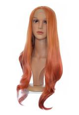 Mango Orange Ombre Lace Front Wig. Lian