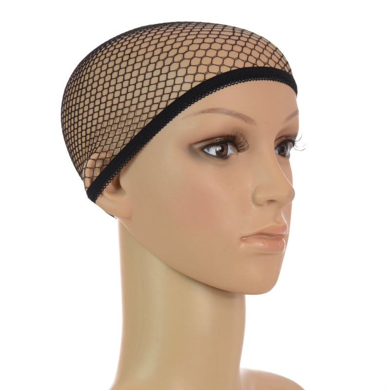 Fishnet Wig Cap | Pack of 3