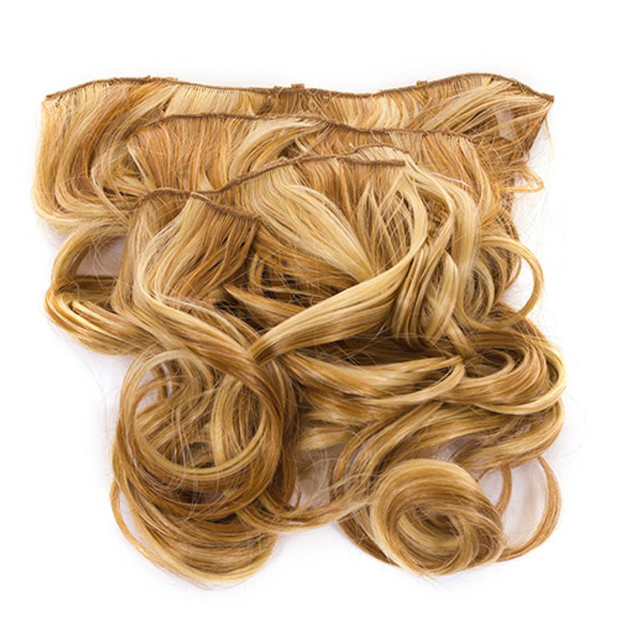Volu-curl 5 Piece Hair Extensions Fawcett Blonde Mix