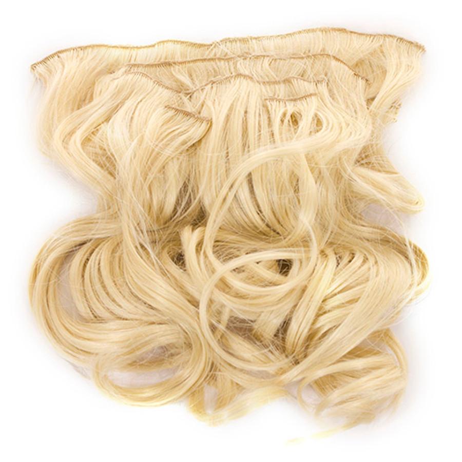 Volu-curl 5 Piece Hair Extensions Monroe Blonde