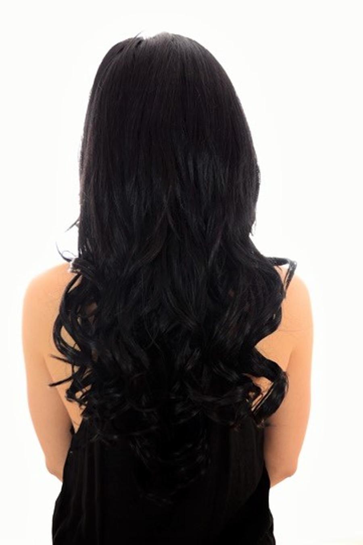 Volu-curl 5 Piece Hair Extensions Page Black