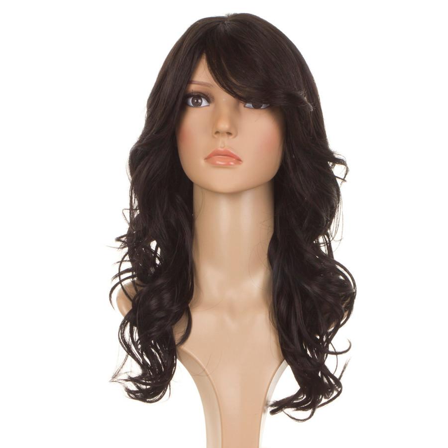Nicole Black Human Hair Blend Wig
