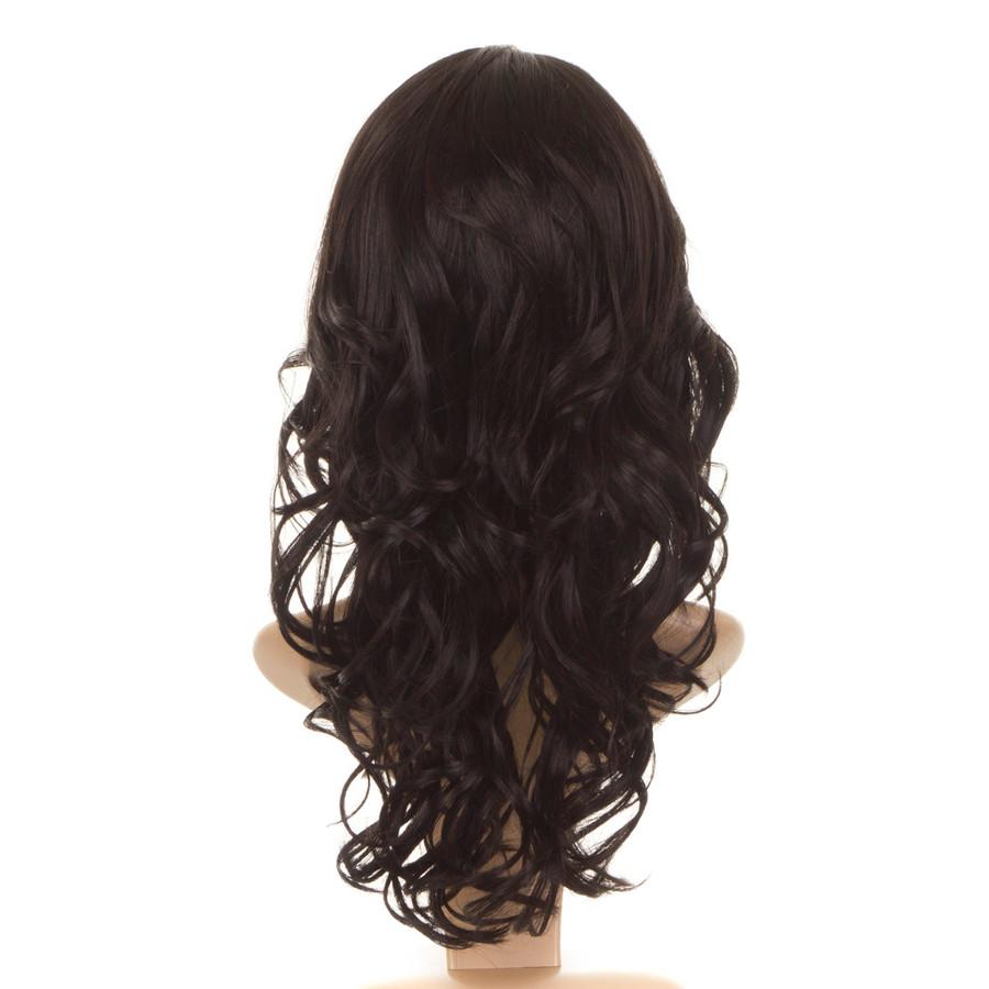 Nicole Expresso Black Human Hair Blend Wig
