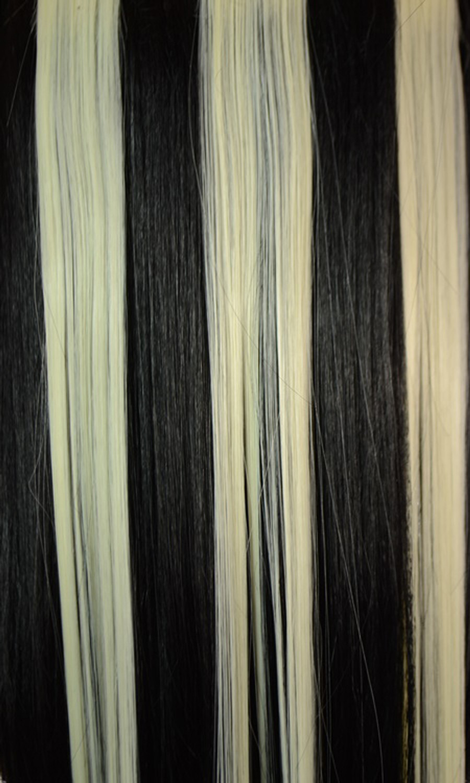 Black & White Hair Flashes