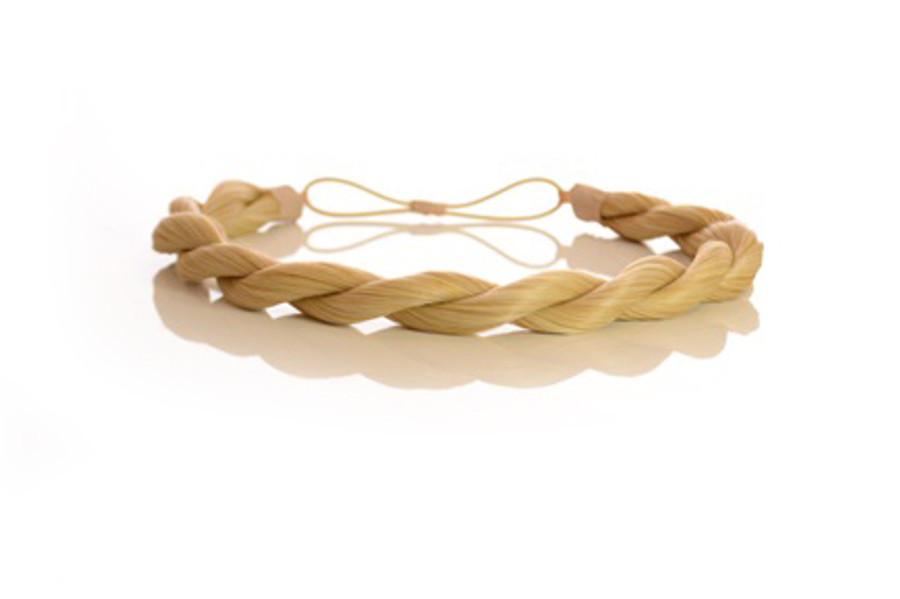 Rope Elasticated Headband Candy Blonde