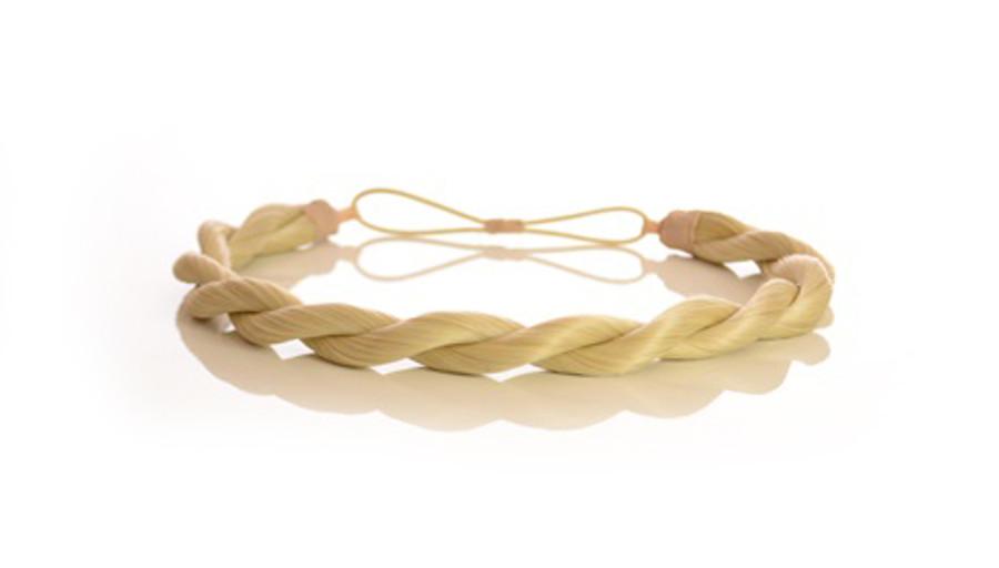 Rope Elasticated Headband Monroe Blonde