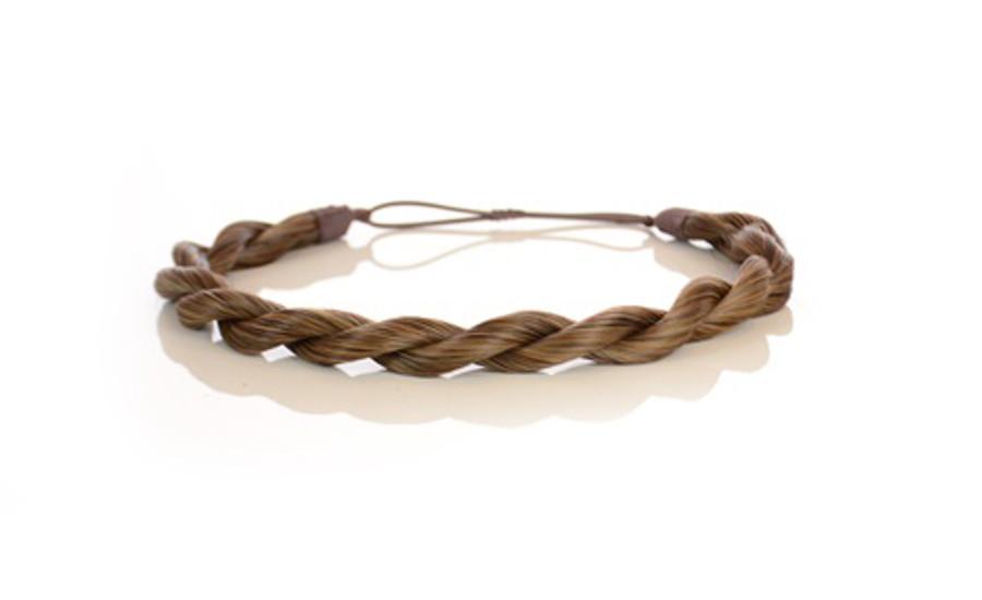 Rope Elasticated Headband Autumn Blonde