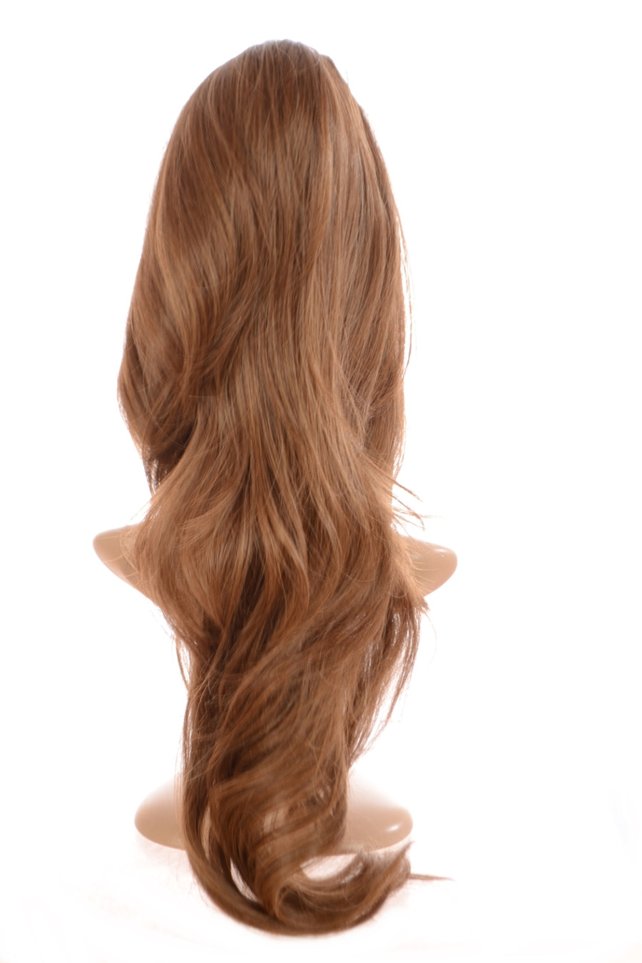 Volume Clip in Hairpiece Light Chocolate Brown