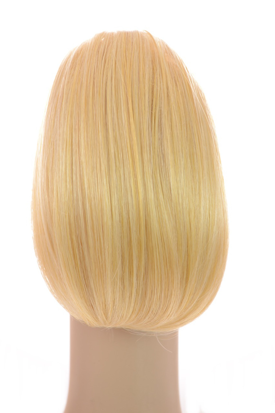 Bouffant Clip In Pony Warm Candy Blonde