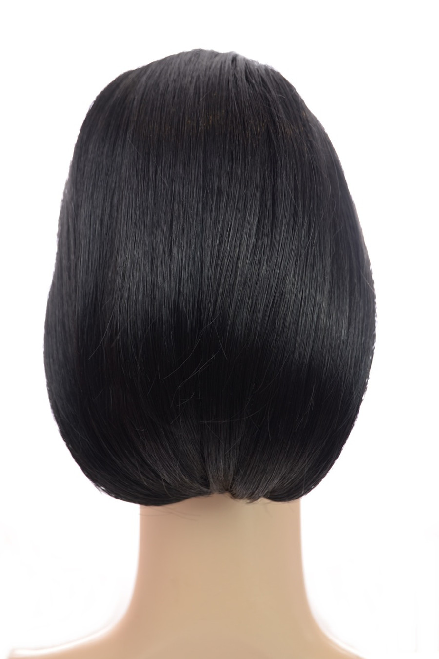 Bouffant Cropped Clip In Ponytail Inca Jet Black