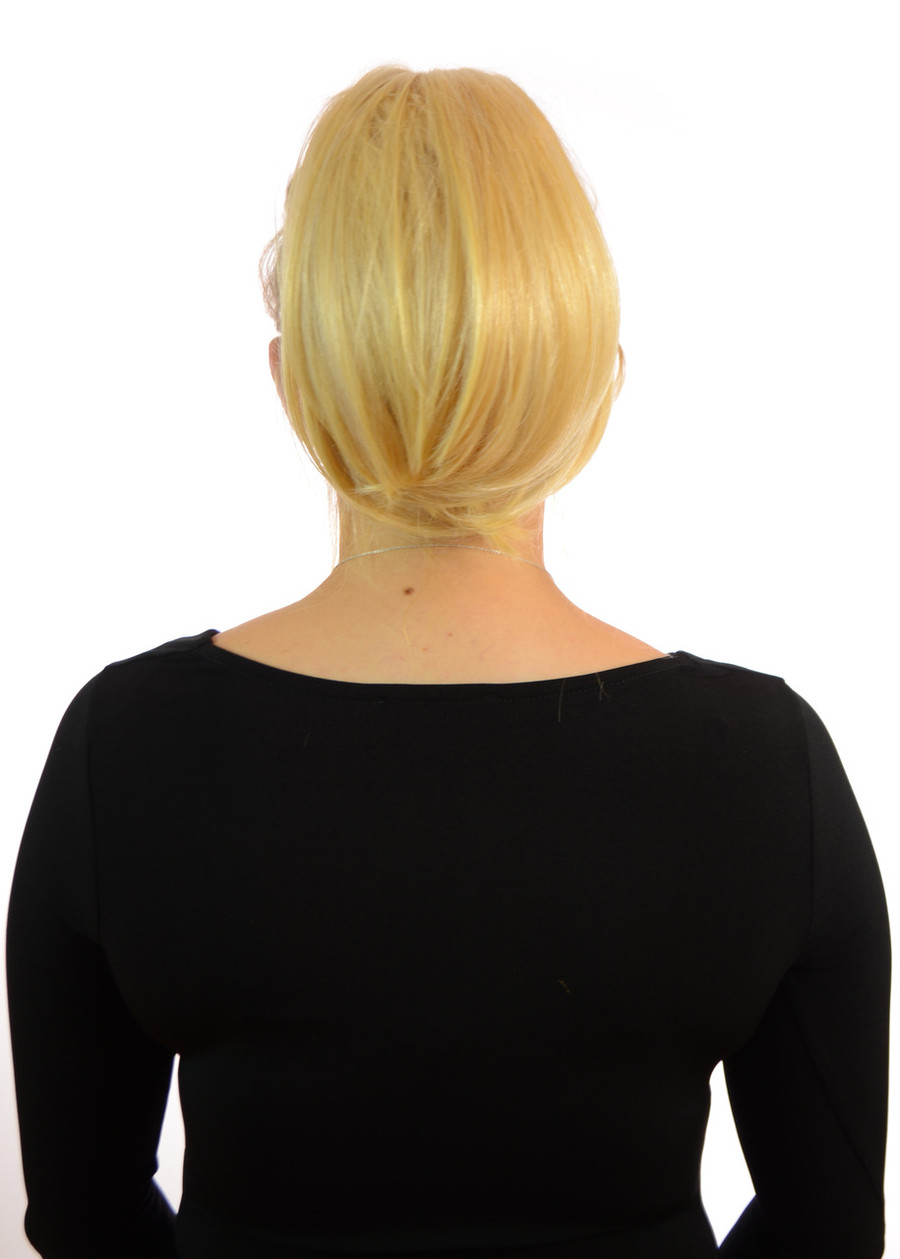 Bouffant Clip In Ponytail Candy Blonde