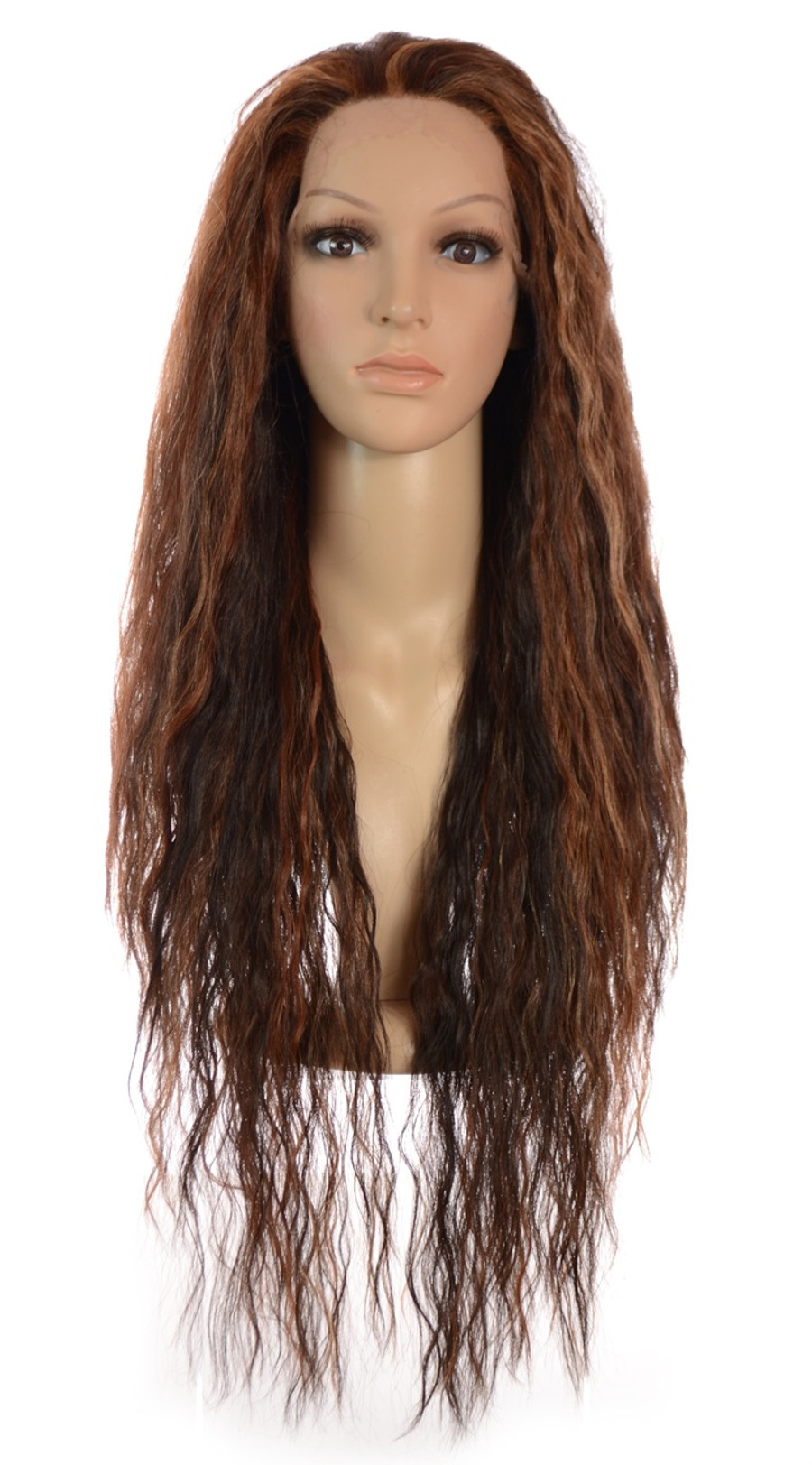 Avril Lace Front Whisper Brown Wig